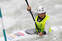 Moe Kaibuchi (JPN), APRIL 14, 2012 - Canoeing : 2012 Canoeing Japan Cup  slalom Competitions, Women's Kayak Single race at Idagawa River, Toyama, Japan. (Photo by Yusuke Nakanishi/AFLO SPORT) [1090]