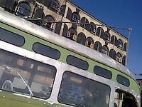 green trolley in redhook