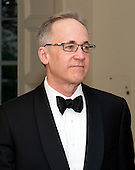 Samuel Heins, one of United States President Barack Obama's biggest campaign fundraisers, arrives for the Official Dinner in honor of Prime Minister David Cameron of Great Britain and his wife, Samantha, at the White House in Washington, D.C. on Tuesday, March 14, 2012..Credit: Ron Sachs / CNP.(RESTRICTION: NO New York or New Jersey Newspapers or newspapers within a 75 mile radius of New York City)
