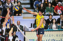 Vissotto Neves Leandro (BRA), DECEMBER 4,2011 - Volleyball : FIVB Men's Volleyball World Cup 2011,4th Round Tokyo(A) during match between Japan 0-3 Brazil at 1st Yoyogi Gymnasium, Tokyo, Japan. (Photo by Jun Tsukida/AFLO SPORT) [0003]