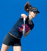 TSVETANA PIRONKOVA practicing at Melbourne Park ..15/01/2012, 15th January 2012, 13.01.2012..The Australian Open, Melbourne Park, Melbourne,Victoria, Australia.@AMN IMAGES, Frey, Advantage Media Network, 30, Cleveland Street, London, W1T 4JD .Tel - +44 208 947 0100..email - mfrey@advantagemedianet.com..www.amnimages.photoshelter.com.
