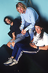 Various portraits &amp; live photographs of the rock band, <br /> Nirvana