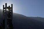 GCS 10/8/02 Bell Tower Sunrise..Photo by Jaren Wilkey/BYU