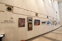 Jake Rajs Exhibition &quot;Notes on America&quot; Conde Nast Building, Jan 7-Feb 23, 2011, 4 Times Square, New York City, New York, USA