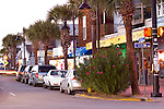 Folly Beach Center Street evening Time Lapse Images