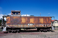 RUST<br /> Rio Grande Train Car<br /> Lamy, NM