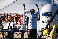 BRAZIL, Itajai. 6th April 2012. Volvo Ocean Race. Ken Read, skipper Puma Ocean Racing Powered by BERG.