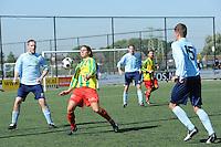 VOETBAL: Leeuwarden: Sportpark Wiarda, 09-09-2012, Zondag 1e klasse F, FVC - LAC Frisia, Eindstand 4-0, FVC-speler René Hoen, ©foto Martin de Jong