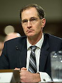James N. Miller, Jr., Acting Under Secretary of Defense for Policy, testifies on the situation in Afghanistan before the U.S. Senate Armed Services Committee on Capitol Hill in Washington, D.C. on Thursday, March 22, 2012..Credit: Ron Sachs / CNP