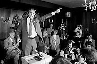 22 Jan 1980, USA --- Republican Presidential candidate George Bush on the campaign trail during the primary elections which he later lost to Ronald Reagan, who named him as Vice-President. --- Image by © JP Laffont