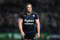 Nick Auterac of Bath Rugby looks on during a break in play. European Rugby Challenge Cup match, between Bath Rugby and Bristol Rugby on October 20, 2016 at the Recreation Ground in Bath, England. Photo by: Patrick Khachfe / Onside Images