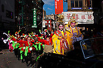 chinese residents celebrate the lunar new year of the snake in New York