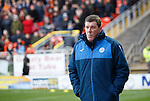 Dundee United v St Johnstone....21.11.15  SPFL,  Tannadice, Dundee<br /> Tommy Wright walks to the dugout<br /> Picture by Graeme Hart.<br /> Copyright Perthshire Picture Agency<br /> Tel: 01738 623350  Mobile: 07990 594431