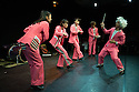 Edinburgh, UK. 01.08.2014.  SUSHI TAP SHOW performs in the C Venues press launch,as part of Edinburgh Festival Fringe. Photograph © Jane Hobson.