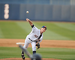 Ole Miss' Casey Mulholland (17) pitches vs. North Carolina-Wilmington's  at Oxford-University Stadium in Oxford, Miss. on Saturday, February 25, 2012. Ole Miss won 6-4.