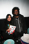 Swap Management President Anel Pla and Questlove of The Roots Attend Flatt Book 6 Launch Party & Salute to Flattprize & National Arts Club Residency Recipient Fabrizio Arrieta Held at The National Arts Club, NY
