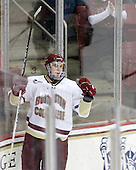 Jimmy Hayes (BC - 10) - The Boston College Eagles defeated the visiting University of Vermont Catamounts 6-0 on Sunday, November 28, 2010, at Conte Forum in Chestnut Hill, Massachusetts.