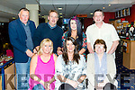 Celebrating a Birthday with family at the Kingdom Greyhound Stadium on Friday was Breda Fitzgerald from Spa Road Tralee. Pictured front l-r Ann lohan, Breda Fitzgerald, Betty Fitzgerald, Back l-r John Fitzgerald, Brendan Lohan Casey fitzgerald, Hilton clapham