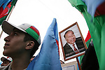 At a rally in Baku, Azerbaijan, on Thursday, Nov. 3, 2005.