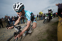 Paris-Roubaix 2012 ..Tom Boonen in the lead