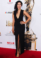 PASADENA, CA, USA - OCTOBER 10: Stephanie Beatriz arrives at the 2014 NCLR ALMA Awards held at the Pasadena Civic Auditorium on October 10, 2014 in Pasadena, California, United States. (Photo by Celebrity Monitor)