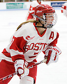 Lauren Cherewyk (BU - 7) - The Boston University Terriers defeated the visiting University of Windsor Lancers 4-1 in a Saturday afternoon, September 25, 2010, exhibition game at Walter Brown Arena in Boston, MA.
