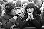 Peace Movement. Peace People. Peace March. Trafalgar Square rally. 1976