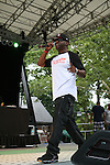 Lord Digga Performs  at Rock Steady Crew 36th Year Anniversary Celebration at Central Park's SummerStage, NY