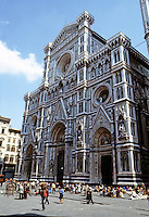 Florence: IL Duomo-- Basilica,  Santa Maria Del Fiore, 1296-1434. Photo '83.
