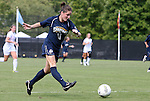 11 September 2011: UNCG's Lauren Hein. The Duke University Blue Devils defeated the University of North Carolina at Greensboro Spartans 2-0 at Koskinen Stadium in Durham, North Carolina in an NCAA Division I Women's Soccer game.