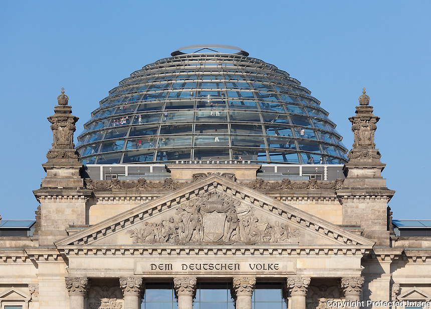 reichstag building west facade and dome berlin quintin lake photography. Black Bedroom Furniture Sets. Home Design Ideas
