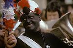 Britannia Coconut Dancers. Bacup Coconut Dancers Bacup Lancashire UK 1974