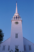 Connecticut, First Church of Christ in Farmington, founded in.1652 and build in the 18th century, These United States page 119