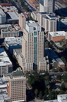 aerial photograph US Bank Plaza, Sacramento, California