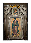 Our Lady of Guadalupe, Santa Clara de Asís, by Larry Angier.