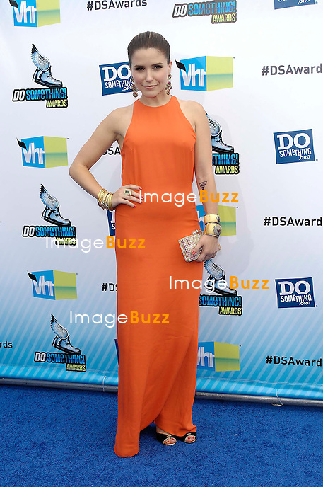 Sophia Bush during the 2012 DO SOMETHING AWARDS, held at the Barker Hangar, on August 19, 2012, in Santa Monica, California..