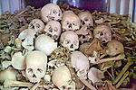 Skulls From Pol Pot Regime Killings