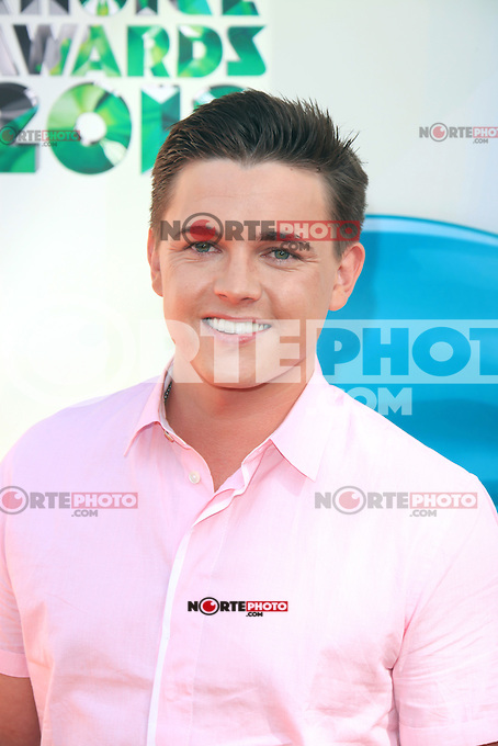 Jesse McCartney at Nickelodeon's 25th Annual Kids' Choice Awards at The Galen Center on March 31, 2012 in Los Angeles, California. © mpi26/MediaPunch Inc.