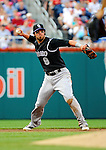 9 July 2011: Colorado Rockies infielder Ian Stewart in action against the Washington Nationals at Nationals Park in Washington, District of Columbia. The Rockies edged out the Nationals 2-1 to win the second game of their 3-game series. Mandatory Credit: Ed Wolfstein Photo