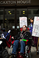 """12.05.2014 - """"Save Independent Living Fund"""" - Demo at DWP"""