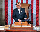 United States House Speaker John Boehner (Republican of Ohio) finishes his remarks at the opening of the 112th Congress in the U.S. Capitol in Washington, D.C. on Wednesday, January 5, 2011..Credit: Ron Sachs / CNP.(RESTRICTION: NO New York or New Jersey Newspapers or newspapers within a 75 mile radius of New York City)