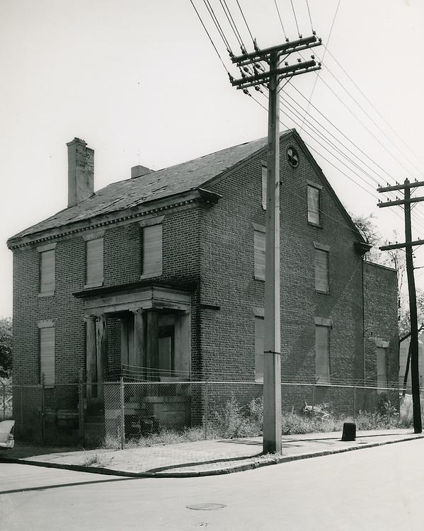 1961 October 05..Historical.Downtown North (R-8)...Hannon House c.1794..PHOTO CRAFTSMEN INC..NEG# 47-885.NRHA# 953c..
