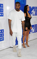 NEW YORK, NY - AUGUST 28 :Kim Kardashian & Kayne West attend the 2016 MTV Video Music Awards at Madison Square Garden on August 28, 2016 in New York City Credit John Palmer / MediaPunch