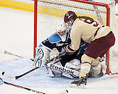 Meghann Treacy (Maine - 31), Taylor Wasylk (BC - 9) - The Boston College Eagles defeated the visiting University of Maine Black Bears 5 to 1 on Sunday, October 6, 2013, in their Hockey East season opener at Kelley Rink in Conte Forum in Chestnut Hill, Massachusetts.