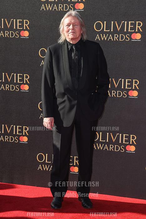 Christopher Hampton at The Olivier Awards 2017 at the Royal Albert Hall, London, UK. <br /> 09 April  2017<br /> Picture: Steve Vas/Featureflash/SilverHub 0208 004 5359 sales@silverhubmedia.com