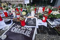 2015/01/08 Berlin | Trauer | Charlie Hebdo