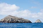 Cocos Island, Costa Rica; Big Dos Amigo and Small Dos Amigo islands, near the southern end of Cocos Island