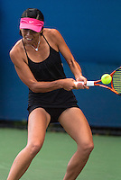 NEW YORK, NY - August 27, 2013: Su-Wei Hsieh (TPE) during her first round single's match at the 2013 US Open in New York, NY on Tuesday, August 27, 2013.