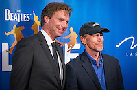 LAS VEGAS, NV - July 14, 2016: Ron Howard and Giles Martin pictured arriving at The Beatles LOVE by Cirque Du Soleil at The Mirage Resort in Las vegas, NV on July 14, 2016. Credit: Erik Kabik Photography/ MediaPunch