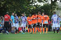 VOETBAL: LANGEZWAAG: Sportpark it Paradyske Langezwaag, 20-07-2013, Oefenwedstrijd SC Heerenveen - AA Gent 200713 Einduitslag 1-1, ©foto Martin de Jong